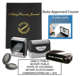 Colorado Notary Supplies Package
