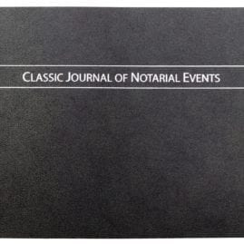 Classic Notary Journal (Soft Cover)